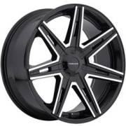 Cruiser Alloy 918MB Paradigm Black Machined Wheels