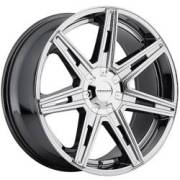 Cruiser Alloy 918V Paradigm Synthetic Chrome Wheel