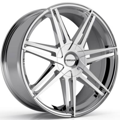 Cruiser Alloy 919C Enigma Chrome Wheels